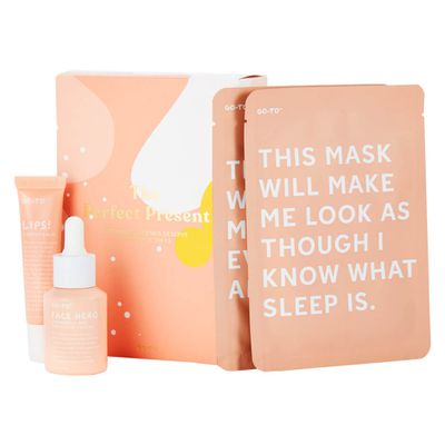 Go-To Skincare The Perfect Present pack, $75
