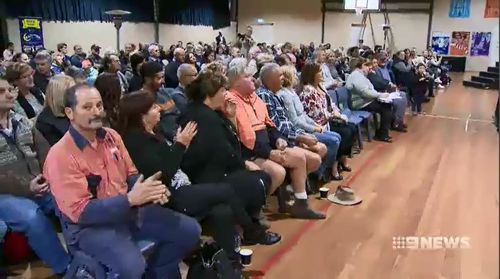 Gladys Berejiklian's government received thousands of submissions from the public opposing the corridor. Picture: 9NEWS.