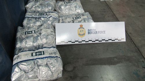 Adelaide men charged over $119m ice haul