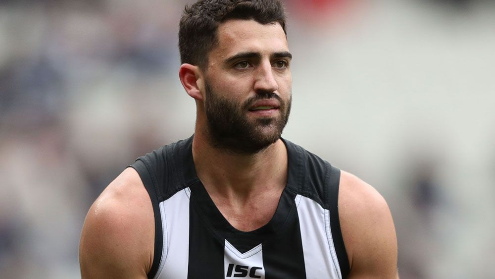 "Collingwood forward Alex Fasolo thought about ""death a lot"" during battle with depression"