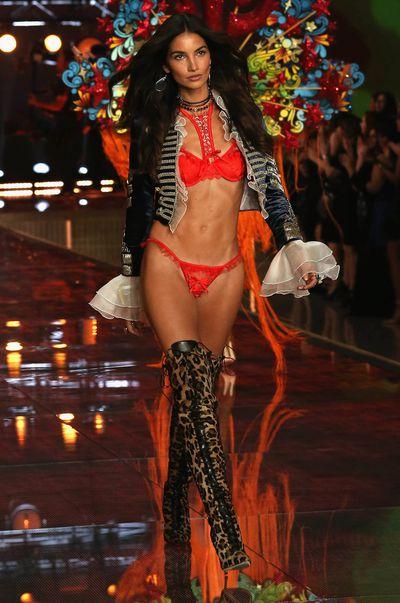 Lily Aldridge for Victoria's Secret.