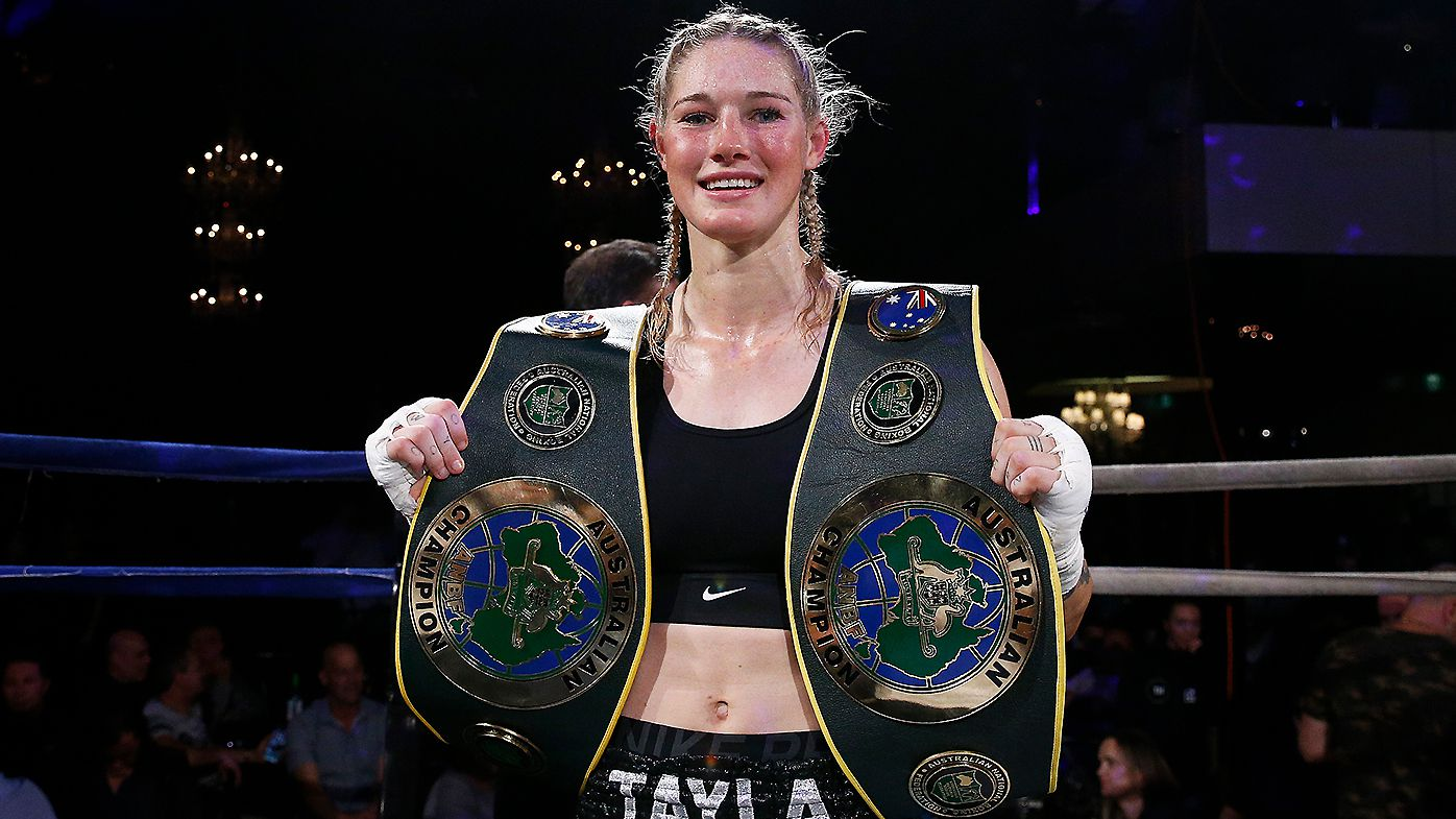 Tayla Harris to make boxing return amid pay war with Carlton over AFLW salary