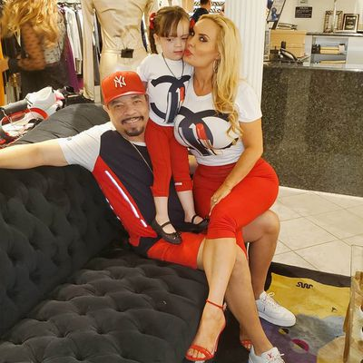 Ice T, Coco Austin and Chanel Morrow