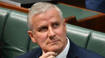 Nationals MP Michael McCormack.