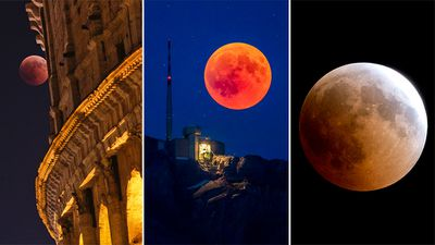 <strong>Stargazers treated to&nbsp;longest&nbsp;lunar eclipse of the century</strong>