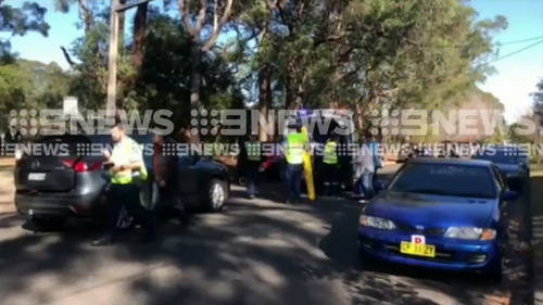 A boy has been hit by a car in Sydney's north. (9NEWS)