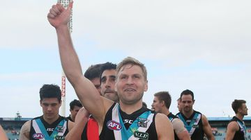Power veteran Kane Cornes extends career with Port after signing one-year deal