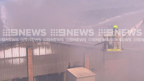 News Sydney Brookvale self storage facility fire