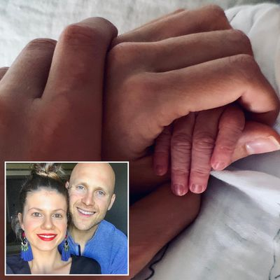 Gary Ablett Jr and wife Jordan become first-time parents