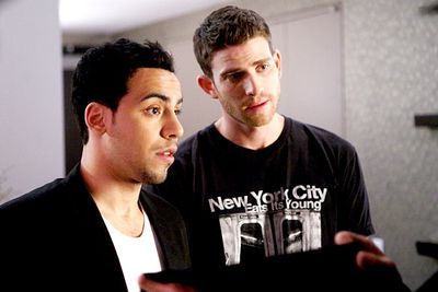 <B>What to recommend:</B> <I>How to Make it In America</I>. This comedy-drama is made by US network HBO — so you know it's high-grade stuff — and follows Ben (Bryan Greenberg) and Cam (Victor Rasuk), two twentysomethings struggling to make a name for themselves in New York's super-competitive fashion industry. What better way to prove your can-do entrepreneurial spirit?<br/><br/><B>Back-up recommendation:</B> <I>Dexter</I>.