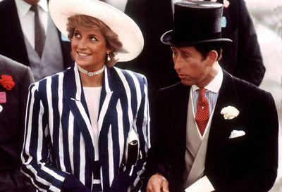 Princess Diana and Prince Charles of Wales, Royal Ascot 1987