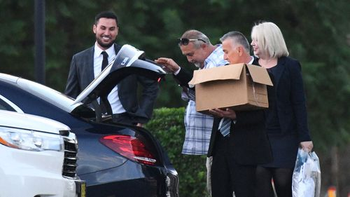 Mehajer was released on bail with a $200,000 surety on March 29. (9NEWS)