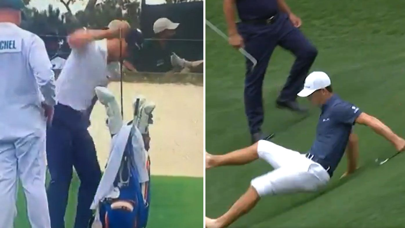 Billy Horschel had a weekend to forget at the Masters. (Twitter)