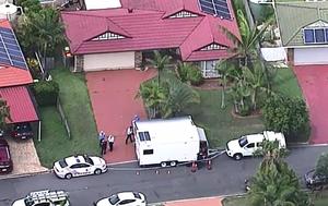 Queensland Police treating murders of elderly couple as terror event linked to Logan Motorway police shooting