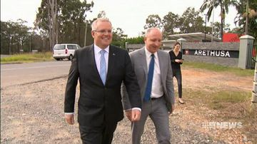 VIDEO: Scott Morrison challenges banks to confirm they won't pass budget tax onto customers