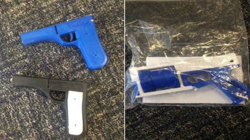The 3D guns seized on the Sunshine Coast were fully functional, despite looking like toys.