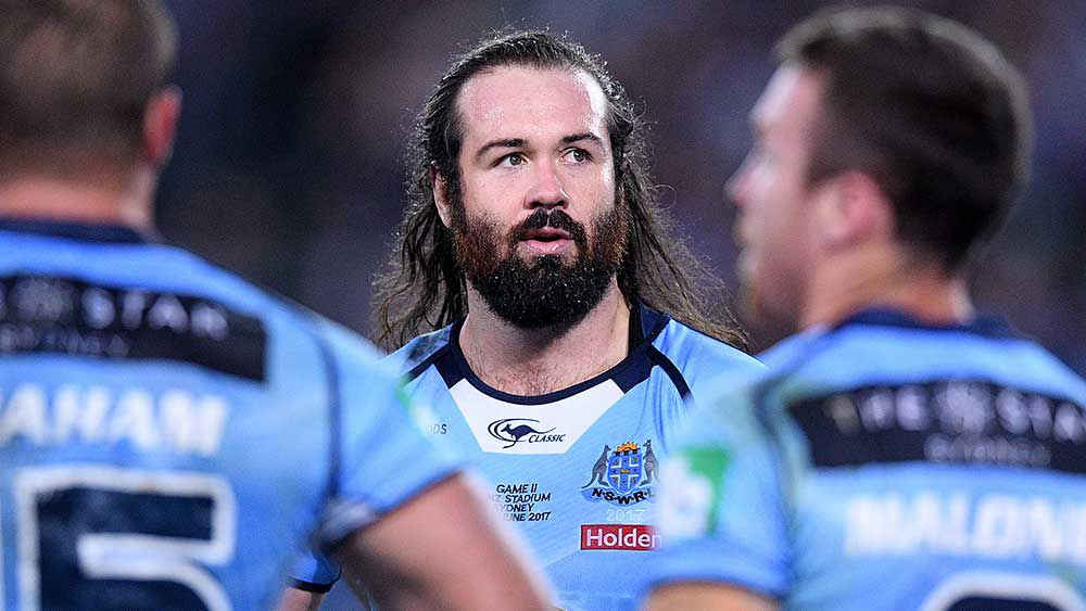 NSW prop Aaron Woods rejects Gould's Blues criticism