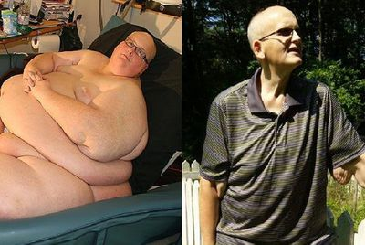 <strong>Paul Mason (lost 294kg)</strong>