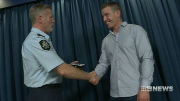 Afghanistan war veteran reunited with stolen medals