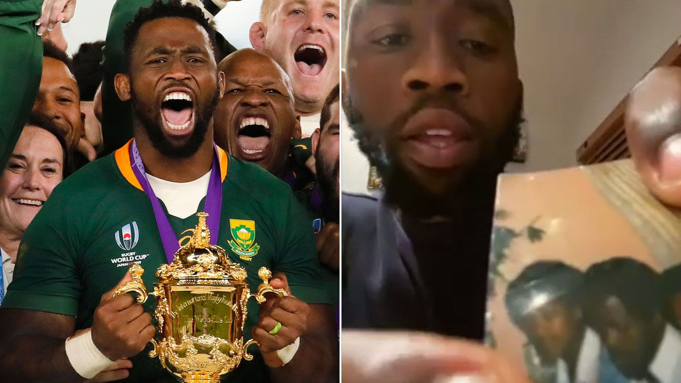 EXCLUSIVE: Springbok Siya Kolisi's emotional bid to end violence against women