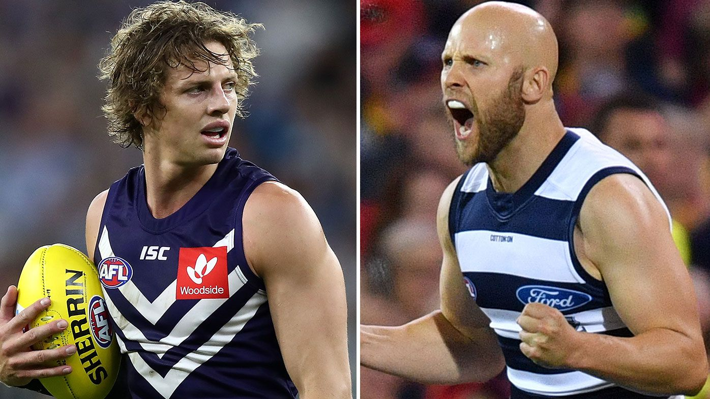 Gary Ablett and Nat Fyfe cleared by Match Review Officer over high elbows