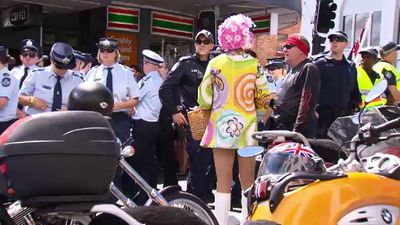 There are about 100 LGBTI liaison officers within the Queensland Police Service. (9NEWS)