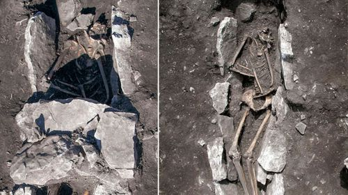 Skeleton could be from human sacrifice to Zeus