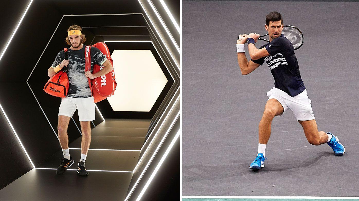 Brutal Djokovic sinks Greek young gun Tsitsipas at Paris Masters