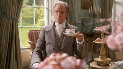 Bill Nighy as Mr Woodhouse in 2020 movie adaptation of Jane Austen's Emma