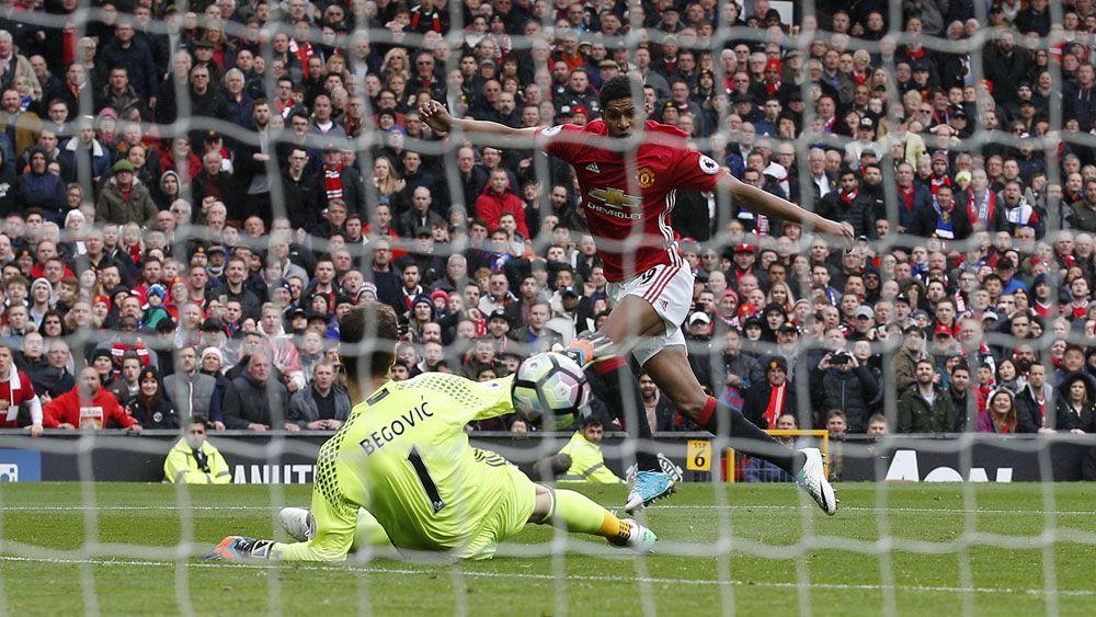 Manchester United beat Chelsea to blow English Premier League title race wide open