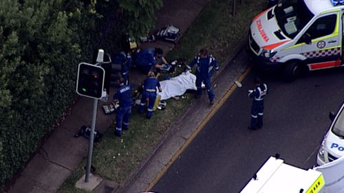 Ambulance NSW could not confirm details of the victim's age or gender. (9NEWS)