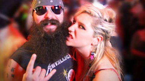 Gross! Beard-lover Ke$ha launches her own beard-sucking site