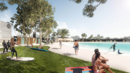 URBNSURF Melbourne will also feature shops and training facilities. (Supplied)