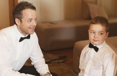 Hamish Blake win son Sonny, four.