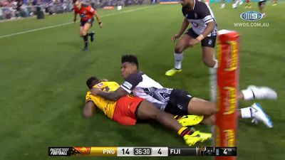 PNG dedicate Fiji league upset to Ottio