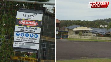Aussie neighbourhood becomes ground zero for asbestos fibres