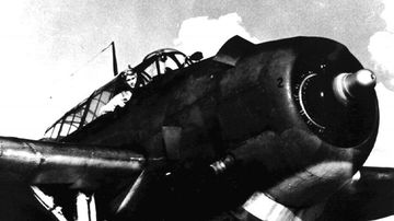 George HW Bush was the youngest Navy pilot during World War II. He is seen here in the cockpit of the Avenger.