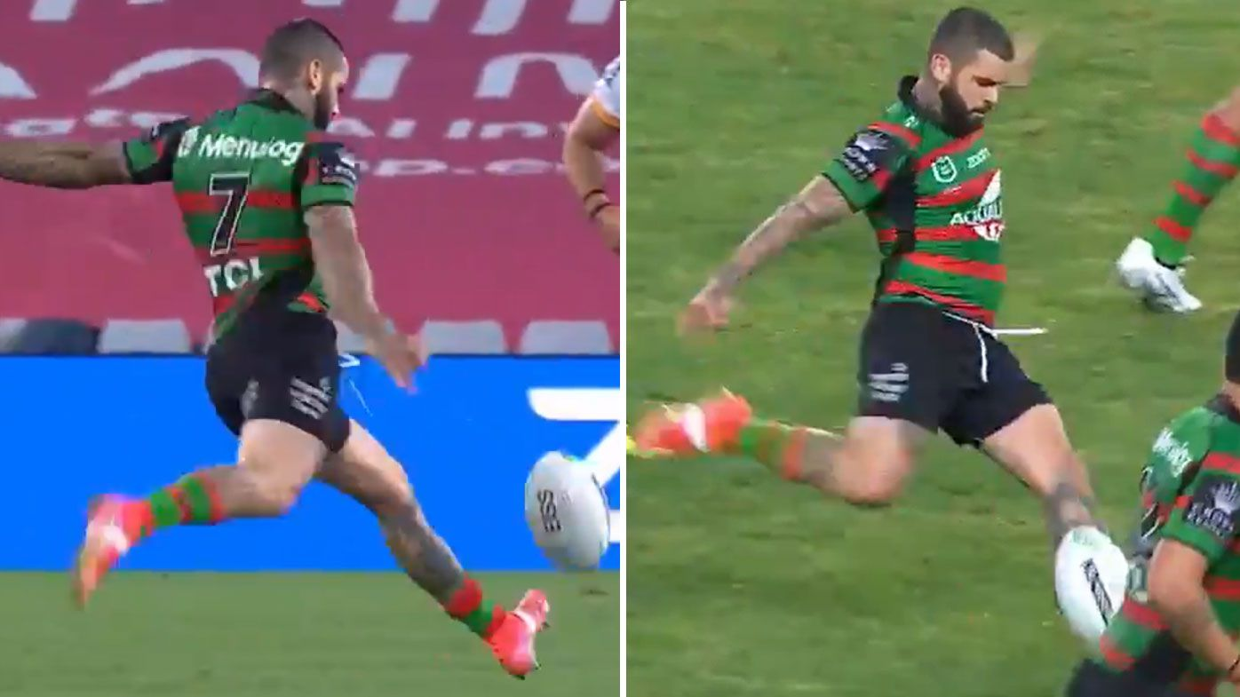 Souths skipper Adam Reynolds slots history-making two-point field goal in big win over Brisbane Broncos