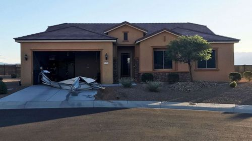 The home of Stephen Paddock in Mesquite, Nevada. (Mesquite Police)