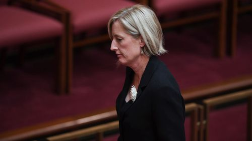 Senator Gallagher stepped down from her parliamentary roles after her dual citizenship at the time of being nominated. (Image: AAP)