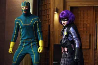 """""""I can't fly. But I can kick your ass.""""<br/><i>Kick Ass</i> was that cute little superhero flick that we all were surprised by in 2010 and now it has a sequel! This time, <b>Jeff Wadlow</b> will replace <b>Matthew Vaughn</b> in the director's chair and <b>Jim Carrey</b> will even make an appearance! But the real seller is that <i>Let Me In</i> star <b>Chloe Grace Moretz</b> will reprise her role as the foul-mouthed Hit-Girl!"""