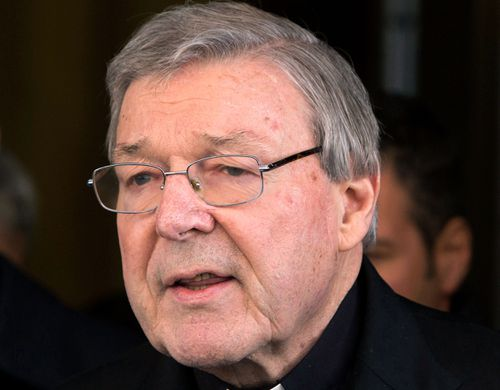 Cardinal George Pell will return to court on May 1 to hear whether he will stand trial over the allegations. (AAP)
