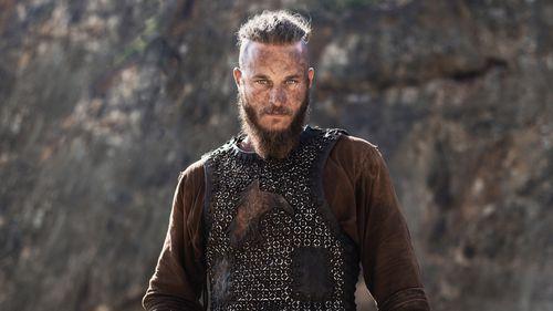 Fimmel plays Lagnar Lothbrok in the popular Vikings series. (AAP)