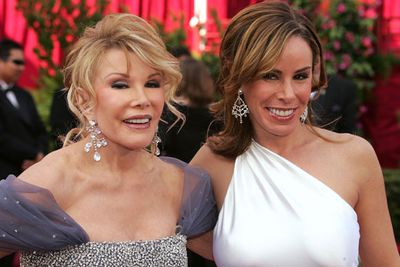 The best mother-daughter duo!<br/><br/>In the mid '90s, Joan and daughter Melissa hosted a series of <i>E!</i>'s red carpet specials. <br/>