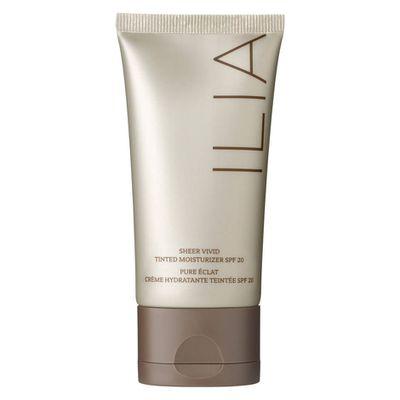 "<a href=""http://www.mecca.com.au/ilia/sheer-vivid-tinted-moisturiser/V-023643.html?cgpath=skincare-moisturiser-tintedmoisturiser"" target=""_blank"">Ilia Sheer Vivid Tinted Moisturiser in Ramla Bay, $61</a><br />"
