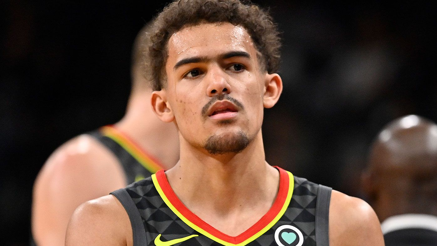 NBA rookie Trae Young's cheeky response after defeating Ben Simmons' Sixers