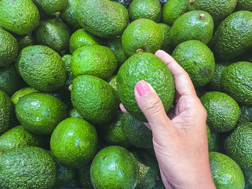 Just a light press on an avocado can cause internal bruising, resulting in a less than ideal smashed avo on toast. (Getty Images)