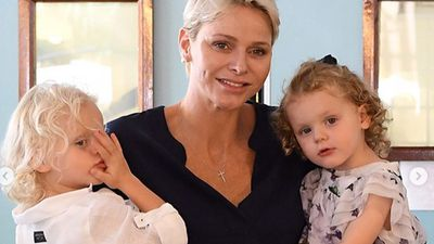 Royal mums: Princess Charlene of Monaco