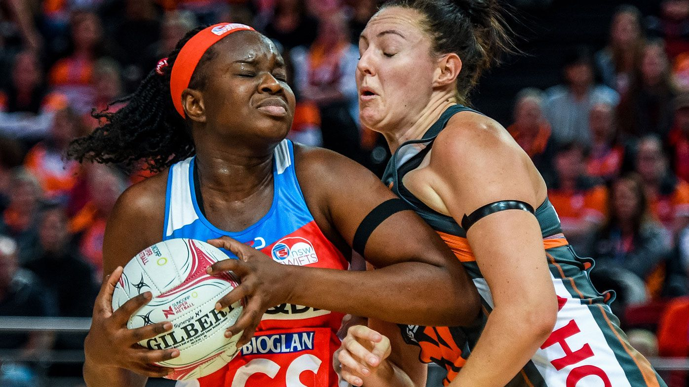 NSW Swifts in thrilling netball win over GWS Giants