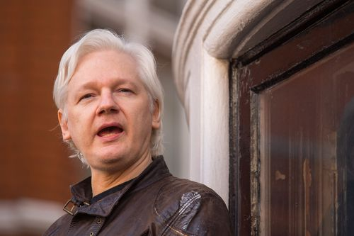 Julian Assange launched the WikiLeaks website in 2006. (AAP)